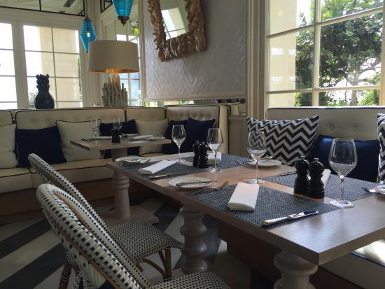 Canouan Estate Villas & Residences: Lagoon cafe