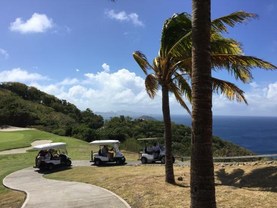 Canouan Estate Villas & Residences: view from golf course