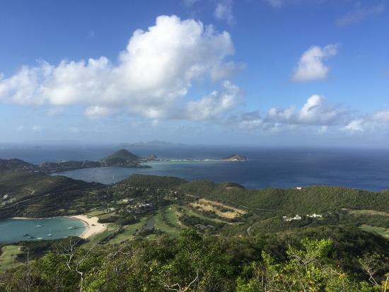 Canouan Estate Villas & Residences: View of island from hike