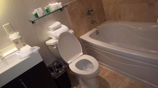 One King West Hotel & Residence: The bathroom