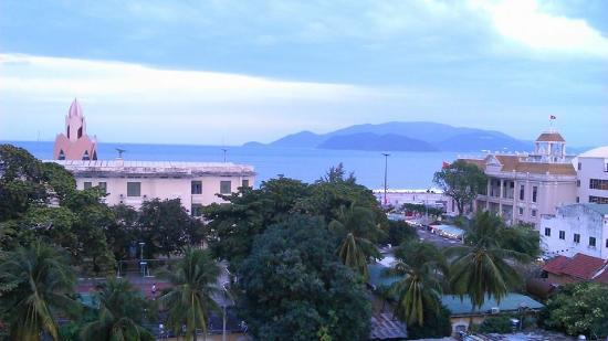Indochine Hotel Nha Trang: Вид из номера