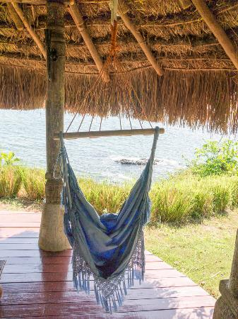 Cala Mia Island Resort: You can watch the ocean from your bungalow swing chair.