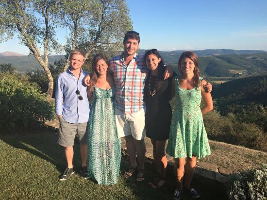 Casa Panfili: The View & Our Group