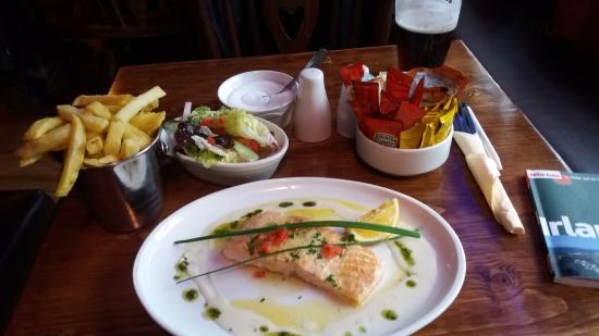 Letterfrack, Ιρλανδία: saumon sauvage