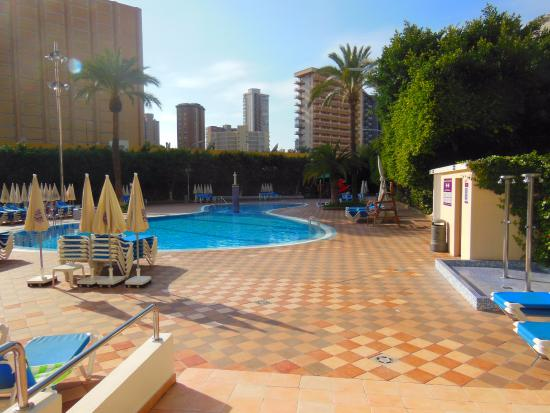 Swimming pool picture of servigroup venus benidorm - Hotels in alicante with swimming pool ...