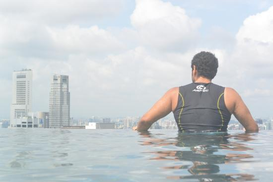Swimming Pool Picture Of Marina Bay Sands Singapore Tripadvisor