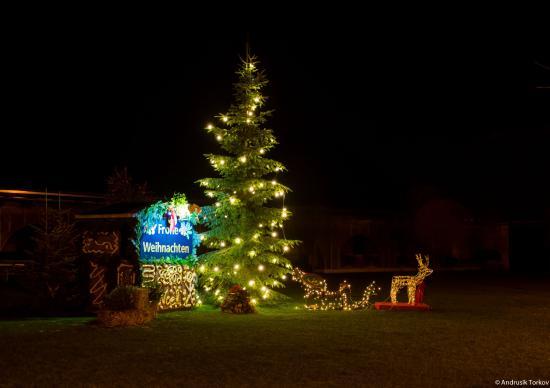 Romantik Hotel Linslerhof: Weihnachtsbeleuchtung