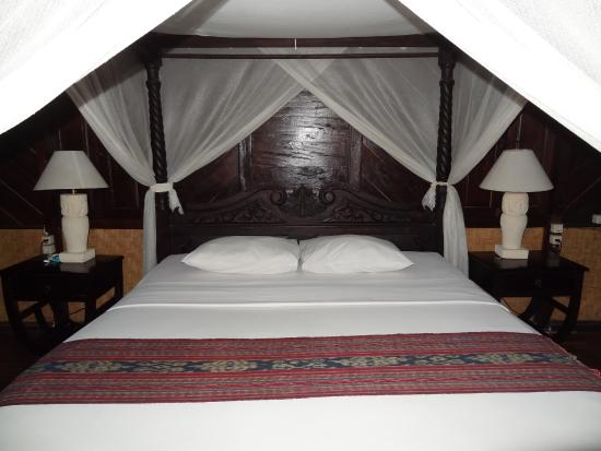 Melanting Cottages & Restaurant: la chambre