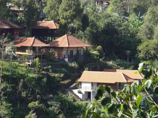 Melanting Cottages & Restaurant: vue d'ensemble de l'établissement