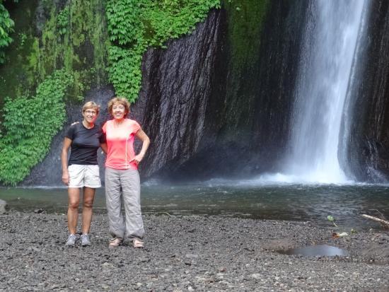 Melanting Cottages & Restaurant: la cascade à 20 mn de amrche