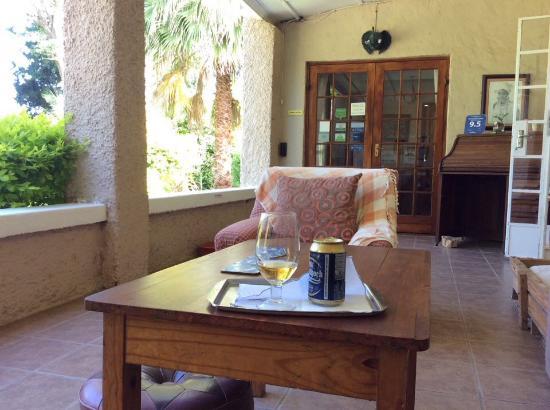 Sunland, Sudáfrica: Having a drink on the varanda