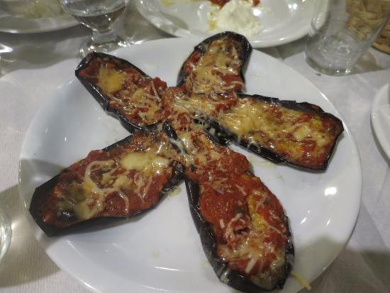Restaurant Chic : Fyldte auberginer