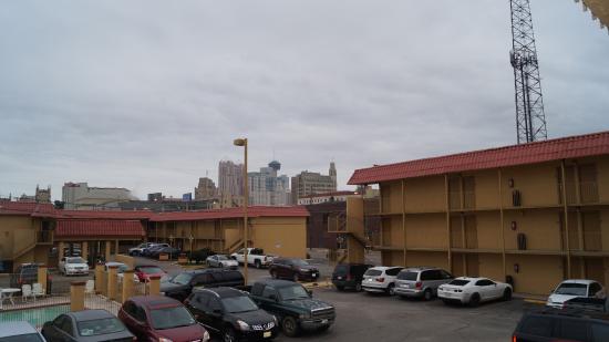 Rodeway Inn Downtown near Riverwalk: Vista Panoramica