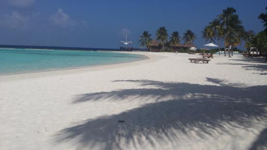 Maafushivaru: Vue depuis votre coin de plage Beach Villa 122