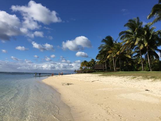 Beachcomber Le Victoria Hotel: our beach