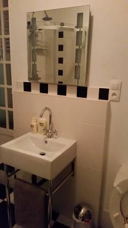 Le Lude, فرنسا: Salle de bains