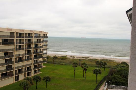 Resort on Cocoa Beach: View from Oceanview room