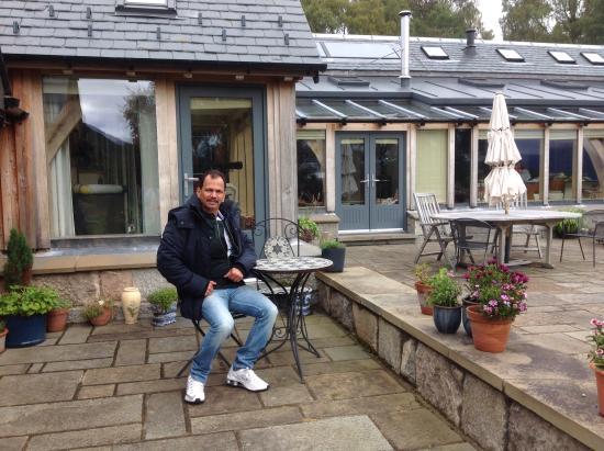 Boat of Garten, UK : The patio