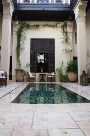 Riad Dixneuf La Ksour: Beautiful lobby