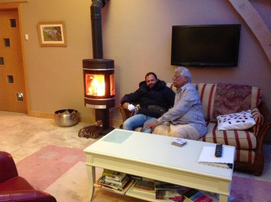 Boat of Garten, UK : The cosy living room