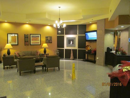 Holiday Inn & Suites - Ambassador Bridge: Lobby.