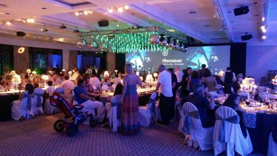 Sheraton Colonia Golf & Spa Resort: La fiesta de fin de año