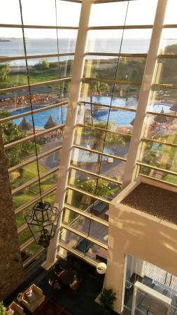 Sheraton Colonia Golf & Spa Resort: Vista paronamica de las piscinas