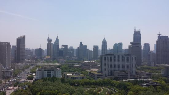 Radisson Blu Hotel Shanghai New World: View of the City
