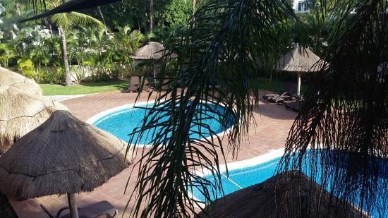 Sandos Playacar Beach Resort: VISTA HABITACION