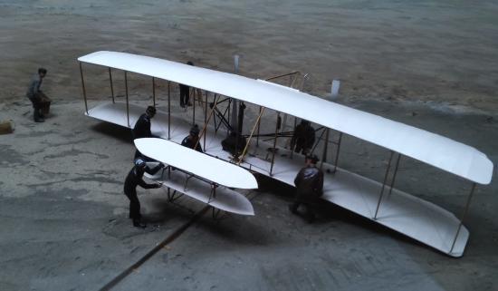 Hampton Inn Elizabeth City: The Wright Brothers' flyer