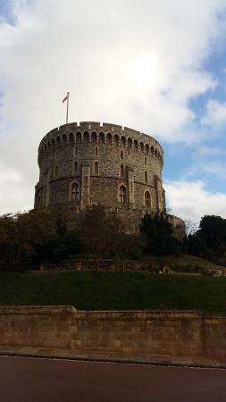 Château de Windsor : Close up of the tower