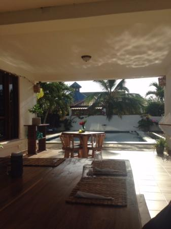 Las Salinas, Nikaragua: Dining Area and Pool