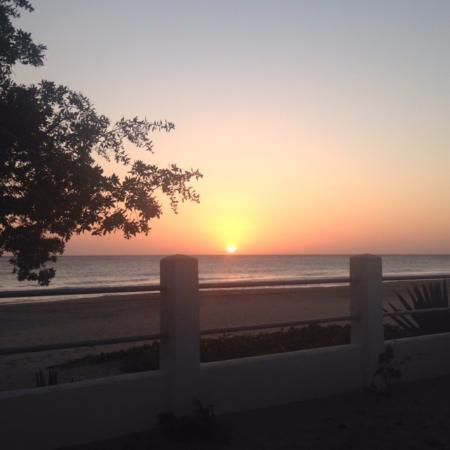 Las Salinas, Nicarágua: Sunset