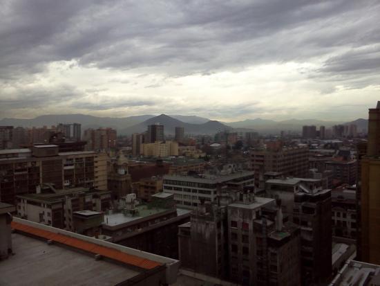 Torre Tagle, Departamentos Amoblados: Vista desde el comedor del apartamento