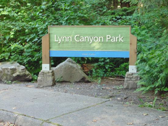 นอร์ทแวนคูเวอร์, แคนาดา: Lynn Canyon Park