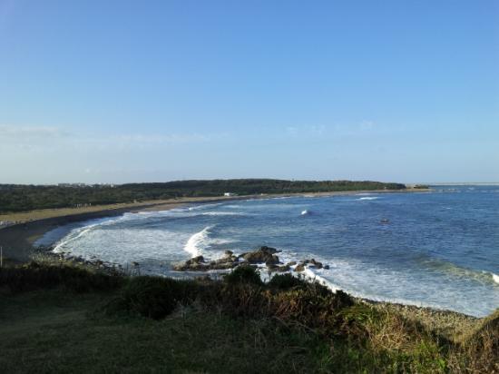 Cape Inubozaki: 空は真っ青