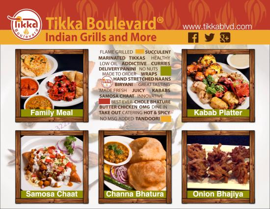 Barrie, Kanada: Here is a reminder of some great dishes that we cook up for you. Be Happy - Eat Tikka and keep t