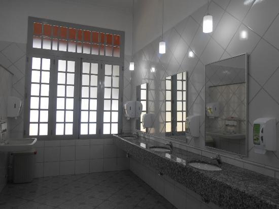Soledade de Minas, MG: Os banheiros da Estação, totalmente reformados e lindos !
