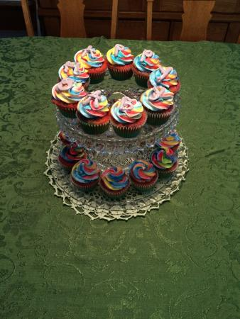 Watertown, WI: Tie Dyed Cupcakes