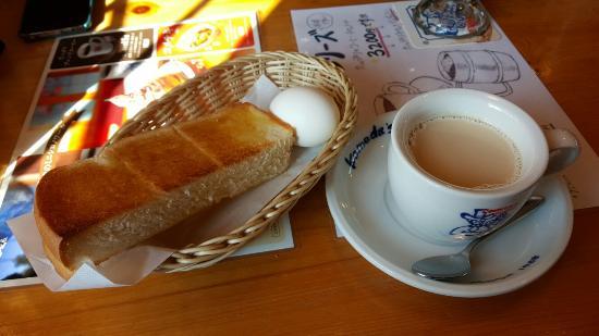 Komeda Coffee Mikihirata