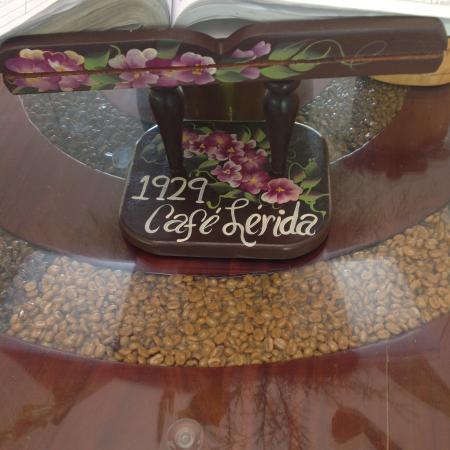 Finca Lerida: Entrada de restaurant