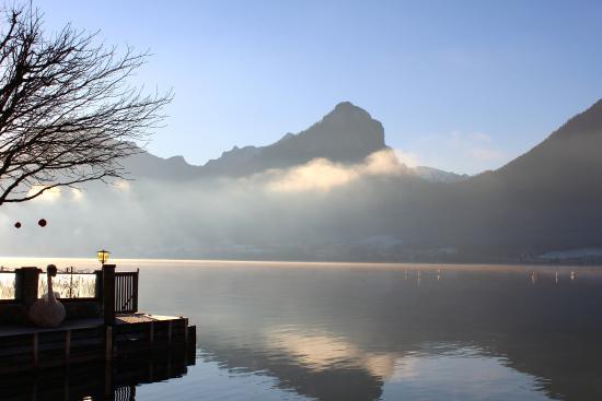 Seebockenhotel Zum Weissen Hirschen: Early December morning