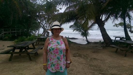 Red Frog Beach Island Resort & Spa: Desde mirador