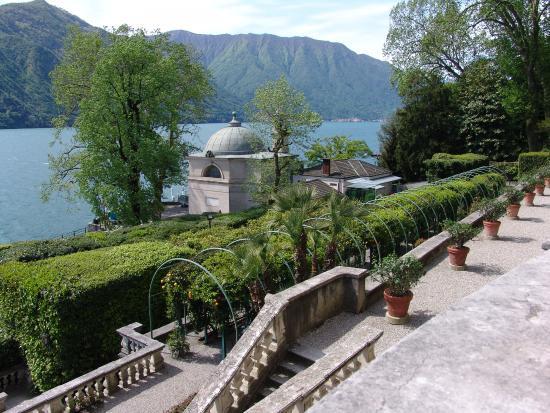 Tremezzina, Włochy: vue depuis la villa