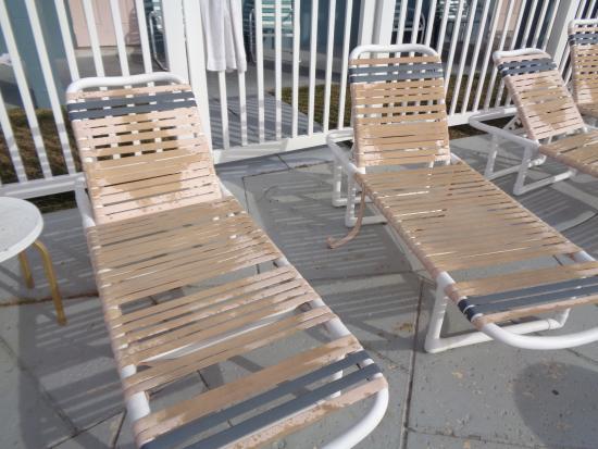 Sunrise Resort Motel South: Sunloungers!!!