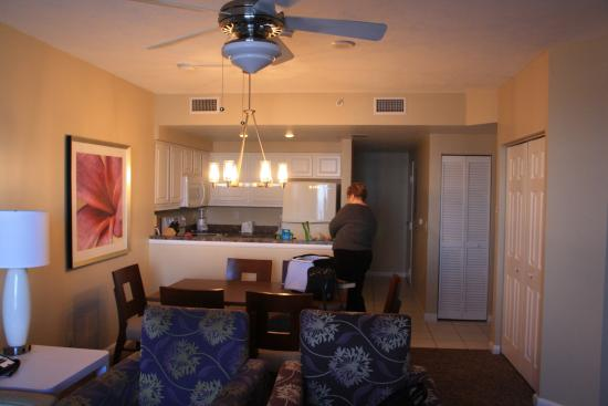 Inside of room picture of wyndham ocean walk daytona beach tripadvisor for 2 bedroom hotel suites in daytona beach