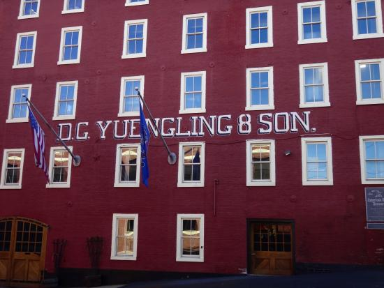 Pottsville, Πενσυλβάνια: Original Yuengling Brewery