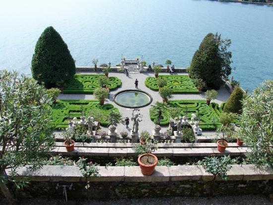 Isola bella picture of isola bella lake maggiore - Jardin a l italienne ...