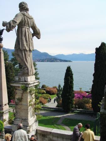 Isola Bella : jardin à l'italienne