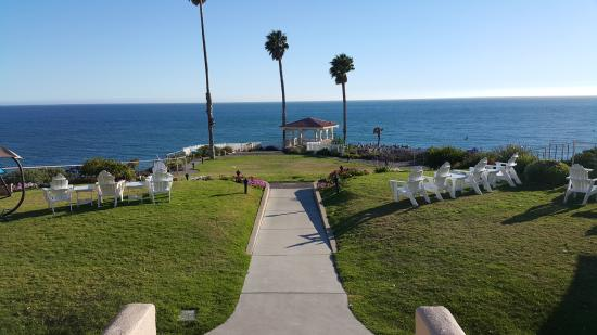 Gazebo picture of shore cliff hotel pismo beach for Best western pismo